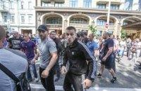 Киевская учительница узнала в напавших на журналистов своих обидчиков