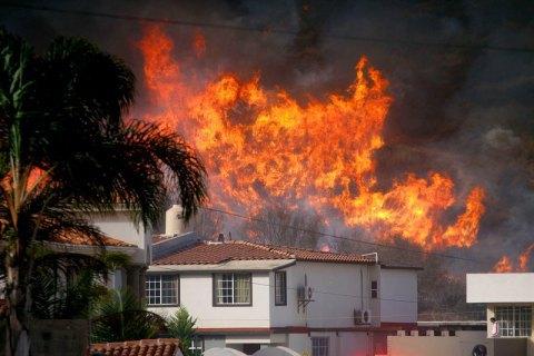 Число жертв пожеж у Каліфорнії збільшилося до 50 осіб