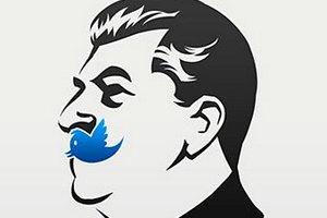 У рекламі Сталіна порівняли з Facebook і Twitter