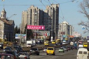 На проспекте Победы в Киеве на три недели ограничат движение