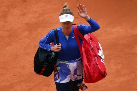 Світоліна не змогла забезпечити український півфінал на турнірі WTA в Абу-Дабі, програвши росіянці