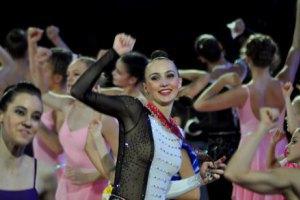 Українська гімнастка привезла з Барселони чотири медалі