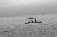 Британский корабль сопроводил российский фрегат в Северном море