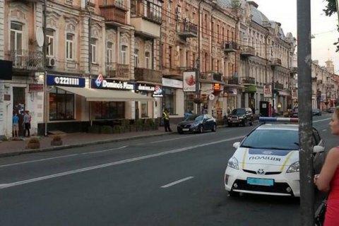Журналістка збила патрульного в Києві