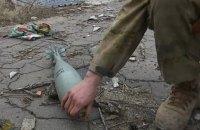 Штаб АТО насчитал пять обстрелов за сутки на Донбассе