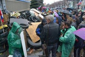У Луганській області триває Сход сепаратистів (Оновлено)