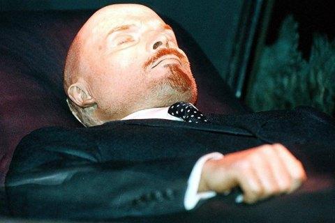 Власти России выделили почти $200 тыс. на сохранение тела Ленина