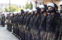 Нацгвардия провела учения для киевской полиции по защите админзданий