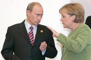 """FT: Путін запропонував Меркель """"чеченський"""" варіант врегулювання кризи на Донбасі"""