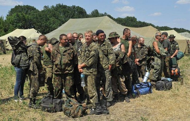 Бойцы 72-ой на территории РФ