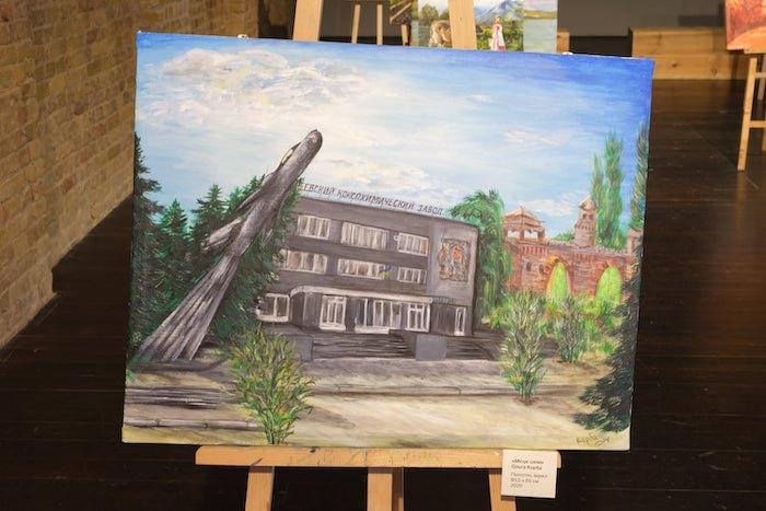 Експозиція виставки «Точка і краєвид: Народний музей Авдіївки»
