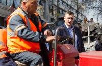 Кличко планирует отремонтировать в Киеве минимум 300 км дорог