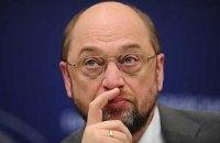 Мартін Шульц погрожує українській владі санкціями