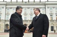 Порошенко зустрінеться з Дудою і Коморовським на стадіоні у Варшаві