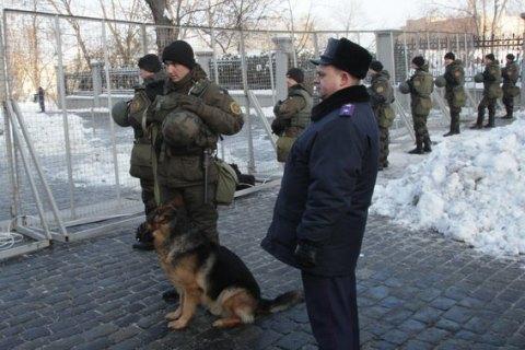У центрі Києва чергують 800 правоохоронців