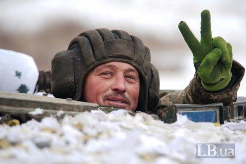 В Черниговской области прошли бригадные учения с боевыми стрельбами