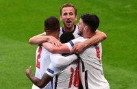 Англія встановила власний рекорд чемпіонатів Європи