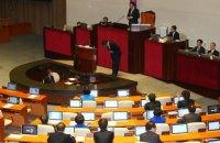В парламенте Южной Кореи 192 часа обсуждали законопроект