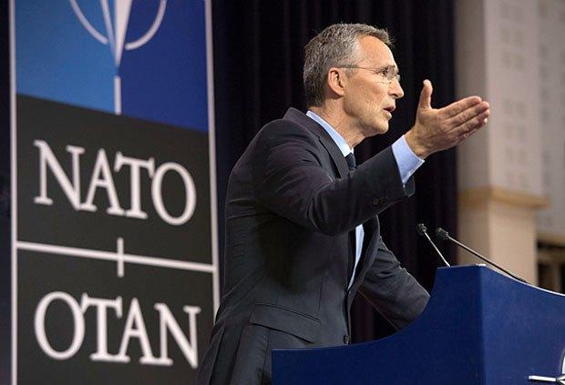 Выступление генерального секретаря НАТО Йенса Столтенберга, Брюссель, 31 марта