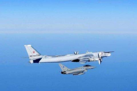 Британия поднимала истребители на перехват российских бомбардировщиков