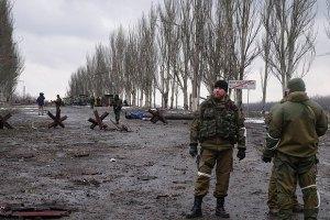 Бойовики за ніч 11 разів обстріляли позиції сил АТО