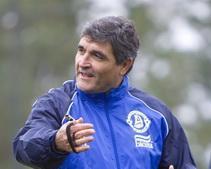 Под руководством нового тренера «Днепр» провел первую тренировку