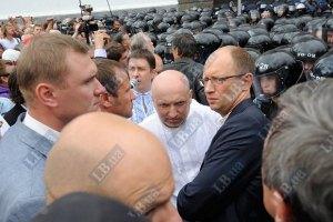 """Турчинов считает Яценюка """"бойцом"""" и обещает кадровые перестановки"""