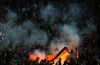 """Фани """"Зеніту"""" спалили прапор Німеччини на стадіоні в Дортмунді"""