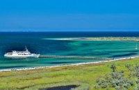 На острове-заповеднике в Черном море застряли триста отдыхающих