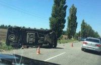 Под Херсоном произошло ДТП с участием БРДМ-2 и микроавтобуса, погиб мужчина (обновлено)