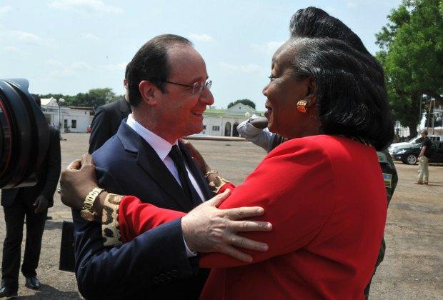Франсуа Олланд, Катрин Самба Панза