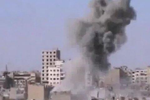 Під час аварії винищувача в сирійському місті Ериха загинули 12 осіб