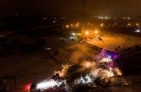 Під час аварії вертольота в Кременчуці місцеві жителі не постраждали
