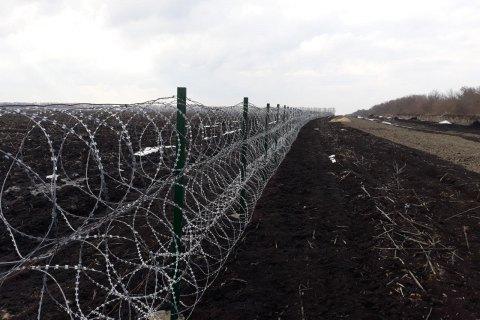 """ДПСУ відновила облаштування """"стіни"""" на кордоні з Росією"""