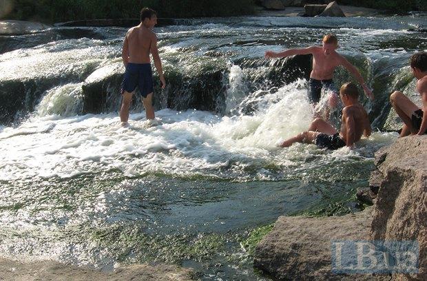 Річка Кам'янка. Рафтинг на попі