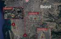 """Израильська армия сообщила о расположении производственных площадок управляемых ракет """"Хезболлы"""" в Бейруте"""