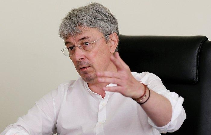 Олександр Ткаченко, міністр культури та інформаційної політики, колишній гендиректор групи каналів 1+1 Media