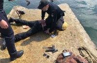 В Одесі п'яний чоловік з пістолетом і ножем намагався пробратися на аварійний танкер