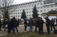 В налоговой Черновцов взорвалась граната
