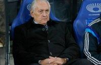 Фоменко оставили тренером сборной Украины по футболу