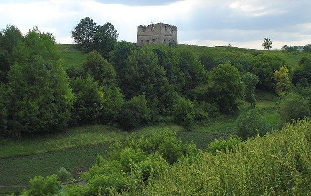 Последняя башня замка панов Сутковских