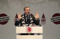Ердоган заявив, що турецькі війська встановили повний контроль над Афріном