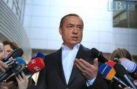 Мартыненко заявил, что сотрудничает с правоохранителями Чехии