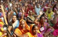 В Индии начались протесты из-за посещения храма женщинами