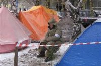 Чорнобильці в Луганську продовжують протестувати