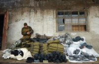 Российский гумконвой возвращается из Донецка