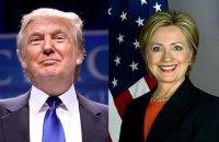 """Клинтон и Трамп укрепили лидерство по итогам """"супервторника"""""""