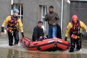 В Великобритании объявлена угроза наводнений