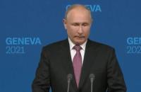 """Путін про обговорення з Байденом вступу України в НАТО: """"Ця тема піднімалася мазком"""""""