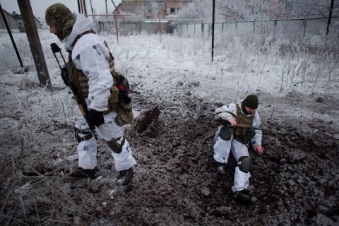 За прошедшие сутки боевики совершили на Донбассе 7 обстрелов